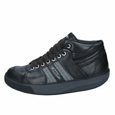 scarpe donna MBT sneakers nero pelle activate BY689