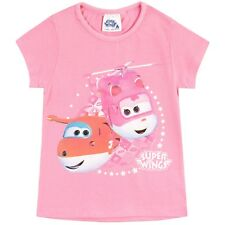 Super Wings T-Shirt I Girls Super Wings Tee I Kids Super Wings Short Sleeve Top