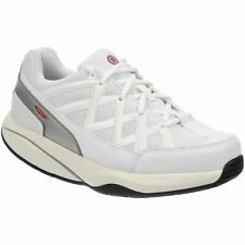 Mbt Sport 3 White Womens Low-top Comfort Lace-up Sneakers Trainers