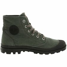 Palladium Pampa Hi Metal Mens Canvas Lace-Up Ankle Casual Boots