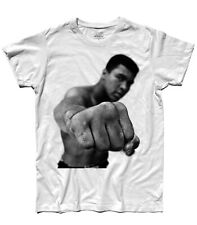 CAMISETA MUHAMMED ALAS PONCHE Cassius Clay Boxeo Boxeador USA Apollo Creed cult