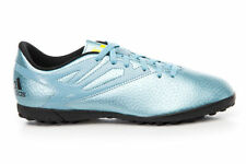 neuf adidas enfants Chaussures de football taille MESSI Gazon synthétique cendre