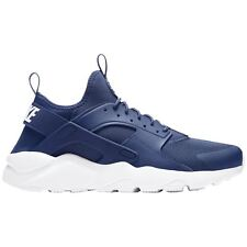 Nike Air Huarache Run Ultra Navy White Mens Mesh Running Low-top Trainers