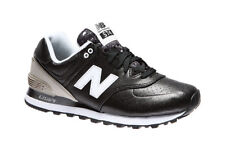 SNEAKER DONNA NEW BALANCE RUNNING SPORT LIFESTYLE SYNTETIC LEATHER BLACK / GREY