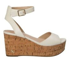ZEPPA DONNA GUESS NICOLLA SANDALO LEATHER CREAM