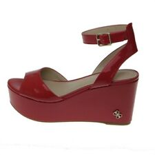 ZEPPA DONNA GUESS NICOLLA2 SANDALO LEATHER VERNICE RED