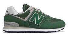 SNEAKER UOMO NEW BALANCE 574  RUNNING SPORT LIFESTYLE SUEDE MESH FOREST GREEN