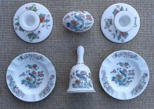 WEDGWOOD KUTANI CRANE - SELECTION OF BONE CHINA ITEMS.