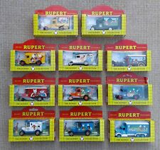 LLEDO - THE RUPERT COLLECTION - SELECTION OF DIE CAST VEHICLES - BOXED.