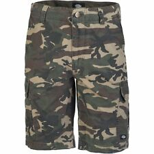 Dickies New York Cargo Hommes Shorts - Camouflage Toutes Tailles