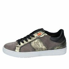 scarpe donna IMPRONTE sneakers beige camoscio bronzo pelle BY899