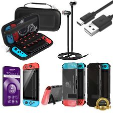Accessories Case Bag+Shell Cover+Charging Cable+2x Protector for Nintendo Switch