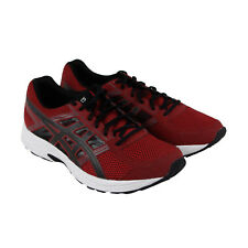 Asics Gel Contend 4 Mens Red Mesh Athletic Lace Up Running Shoes