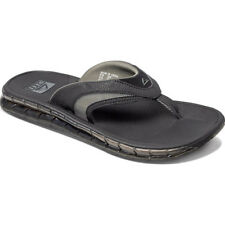 Reef Boster Mens Footwear Sandals - Black Ice All Sizes