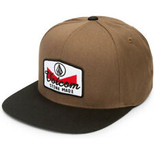 Volcom Quarter Twill Mens Headwear Cap - Hazelnut One Size