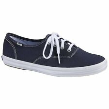 Keds Champion Canvas Femmes Chaussures Chaussure - Navy Toutes Tailles
