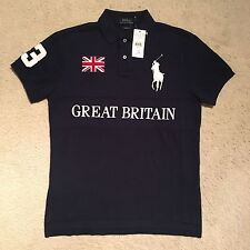 Polo Ralph Lauren Custom Fit Great Britain Polo Shirt RRP: £115.00