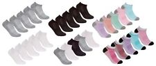 REDTAG Ladies 5 Pack Sports Cotton Rich Trainer Liner Socks 4-8