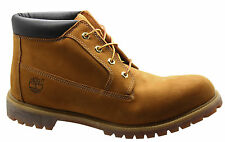 TIMBERLAND AF HERITAGE IMPERMEABILE Chukka Stivali uomo GRANO pelle in pizzo