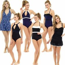 Ladies/Womens Padded Swimsuit/Swimming Costume Size 10,12,14,16,18,20,22 NEW