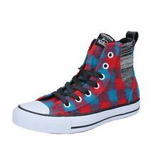 scarpe donna CONVERSE ALL STAR WOOLRICH sneakers multicolor lana tessuto BX68