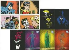 Batman Archives Chase Card selection from Rittenhouse Archives 2008