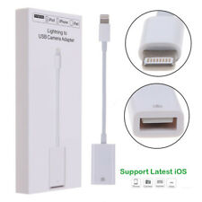 Lightning OTG 8 pin Male to USB Adapter Cable Lead iOS 11 For iPhone iPad Kit