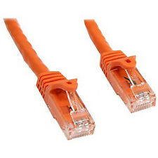 NEW! Startech 10 Ft Orange Snagless Cat6 Utp Patch Cable Category 6 10 Ft 1 X Rj