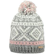 Barts Log Cabin Unisexe Couvre-chefs Bonnet - Heather Grey Une Taille