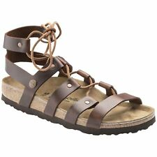 145331b4d6a Papillio by Birkenstock Cleo Cognac Womens Leather Gladiator Strappy Sandals
