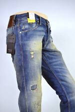 Eye-catcher! MELTIN POT JEANS Melton Destroyed regolare TAPER - W33