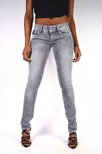 PEPE JEANS VERA gris clair F80 tubes Jeans coupe slim NEUF W24 W30 W32