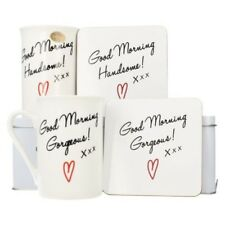 MINORE & Quintavalle Good Morning MAGNIFICI & BELLO Mug label-gift Set con Latta