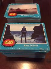 2017 topps Star Wars Journey to the last jedi Singles (#1-110) Pick a carte