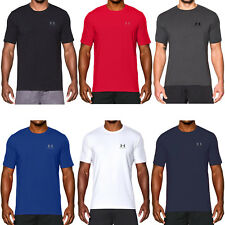 Under Armour UA Mens Charged Cotton Short Sleeve Gym Running Tee T Shirt Top