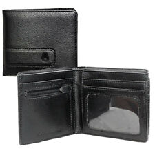 Nixon Surf Showtime Bi-fold Zip Mens Wallet/purse Wallet - All Black One Size
