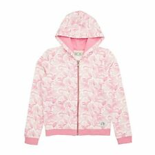O Neill Easy Hoody Zip - White Aop /pink/ Purple All Sizes