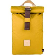 The Level Collective Winnats Roll Top Unisex Rucksack Hiking - Mustard One Size