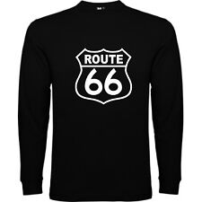 T-SHIRT MANICA LUNGA ROUTE 66