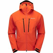 Montane Sabretooth Homme Veste Soft Shell - Firefly Orange Toutes Tailles