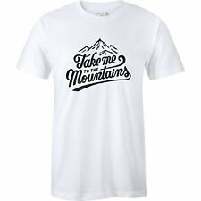 The Level Collective Take Me To Mountains Unisexe T-shirt à Manche Courte -