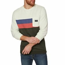 Rip Curl Authentic Crew Homme Pull Sweater - Tofu Toutes Tailles
