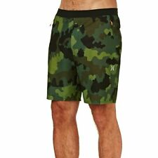 Hurley Alpha Trainer Plus Threat 18.5in Homme Shorts Pour Planche - Camo