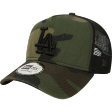 New Era Washed Camo 9forty Af Trucker Homme Couvre-chefs Casquette - Los Angeles