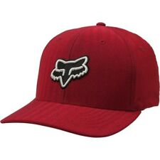 Fox Racing Transfer Flexfit Homme Couvre-chefs Casquette - Red Toutes Tailles