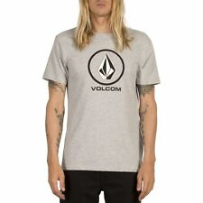 Volcom Circle Stone Basic Homme T-shirt à Manche Courte - Heather Grey
