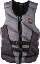 Ronix FORESTER CAPELLA 2.0 Weste 2018 heather/charcoal/orange Wakeboard Neo Vest