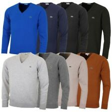 Lacoste hommes ah3003 laine pull col V Pull-over Pull-over VN tricot