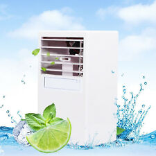 Mini Desktop Air Conditioning Fan Air Evaporation Cooling Humidifier Summer USA