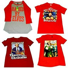 Mens' Christmas Shirts Clark Griswold Christmas Vacation Elf  NWT